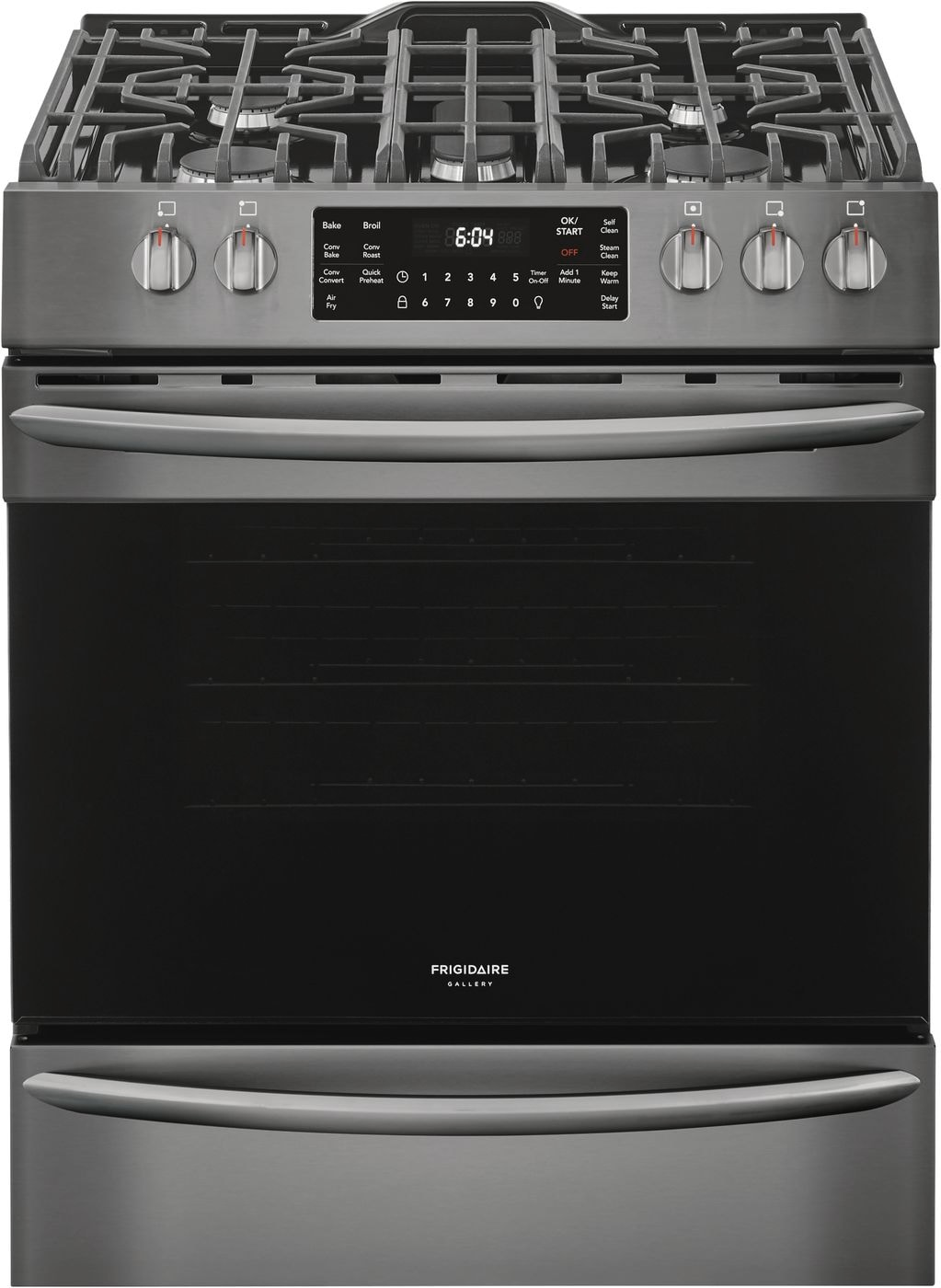 "Frigidaire Gallery 30"" Front Control Gas Range with Air Fry"