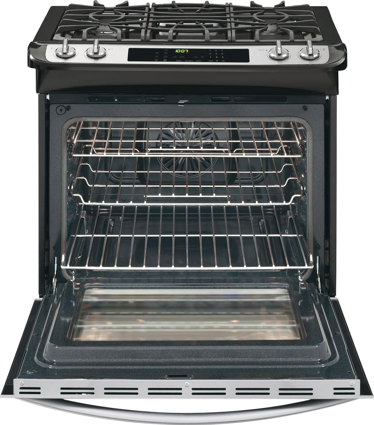 "Model: FGGS3065PF | Frigidaire Gallery 30"" Slide-In Gas Range"