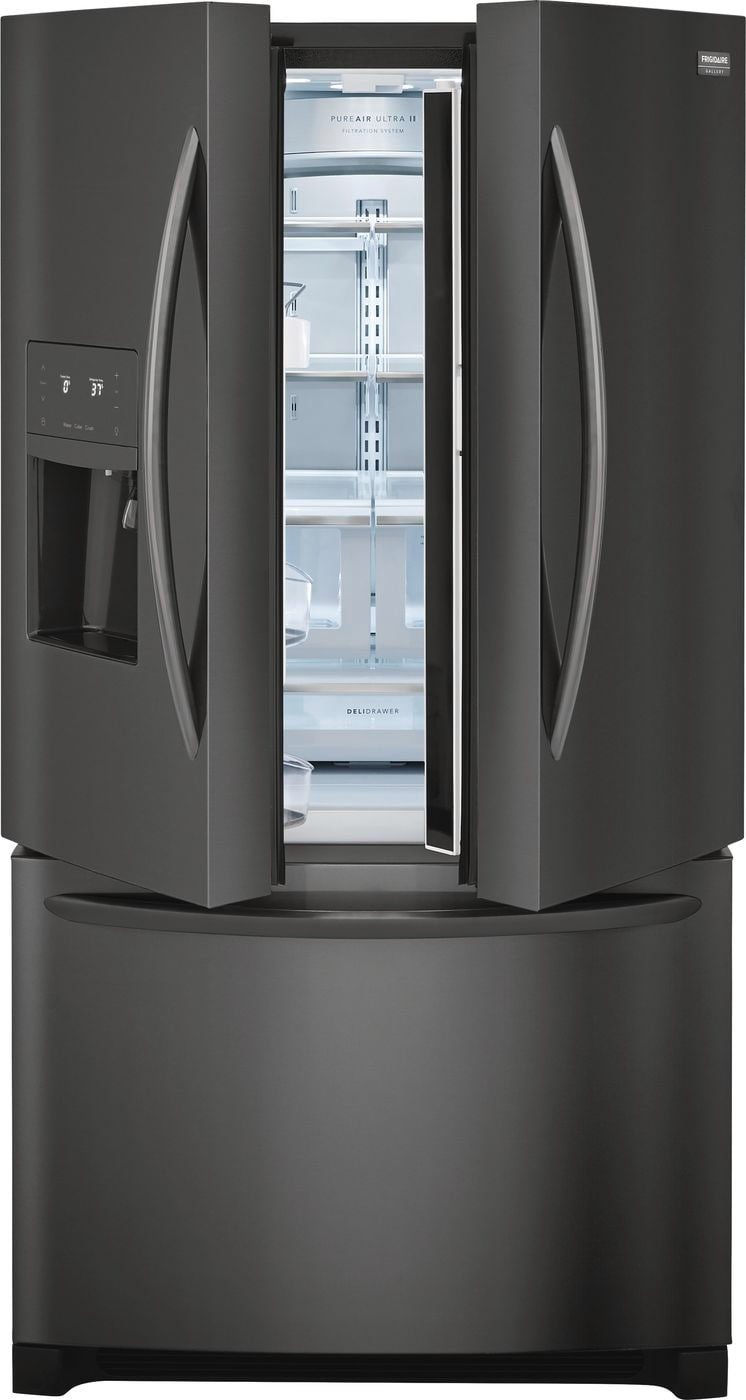 Model: FGHD2368TD | Frigidaire Gallery 21.7 Cu. Ft. Counter-Depth French Door Refrigerator