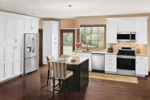 Model: FGHD2368TF | Frigidaire Gallery 21.7 Cu. Ft. Counter-Depth French Door Refrigerator