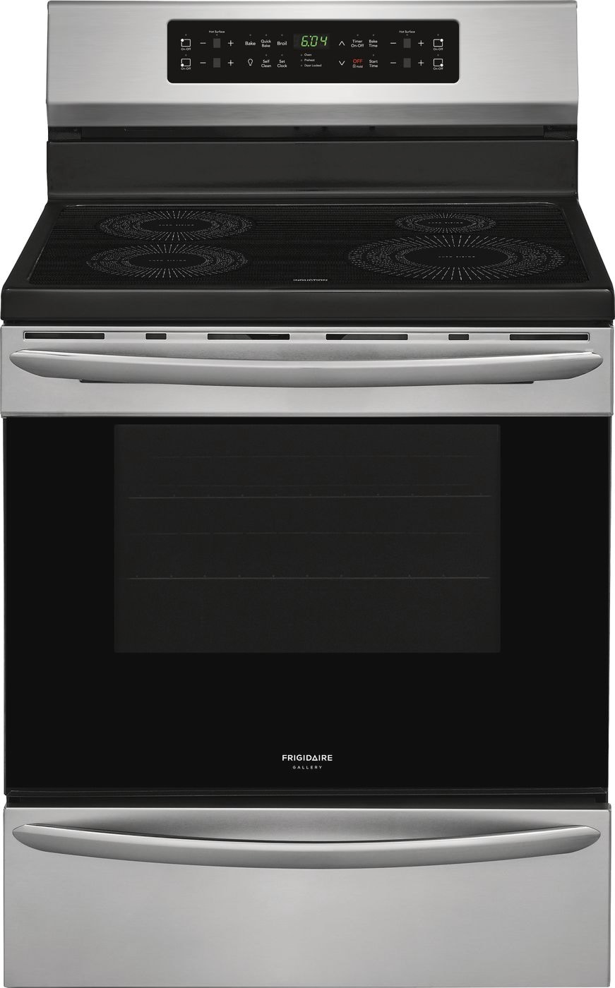 "Model: FGIF3036TF | Frigidaire Gallery 30"" Freestanding Induction Range"