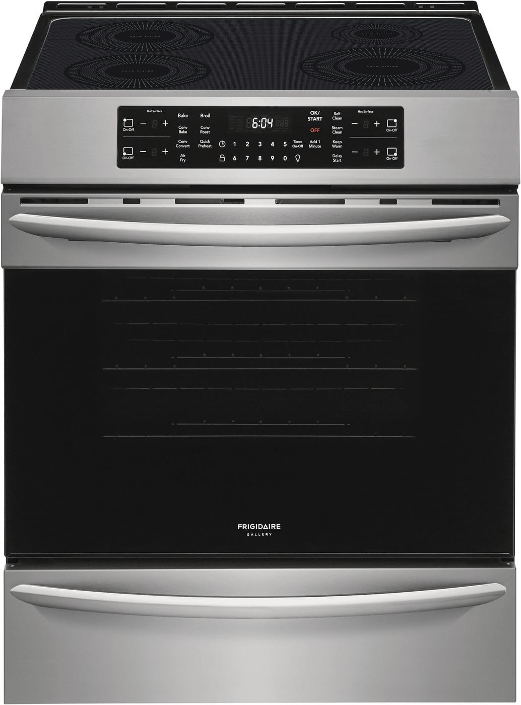 "Frigidaire Gallery 30"" Front Control Induction Range with Air Fry"