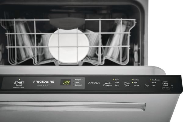 "Model: FGIP2468UD | Frigidaire Gallery 24"" Built-In Dishwasher with Dual OrbitClean® Wash System"