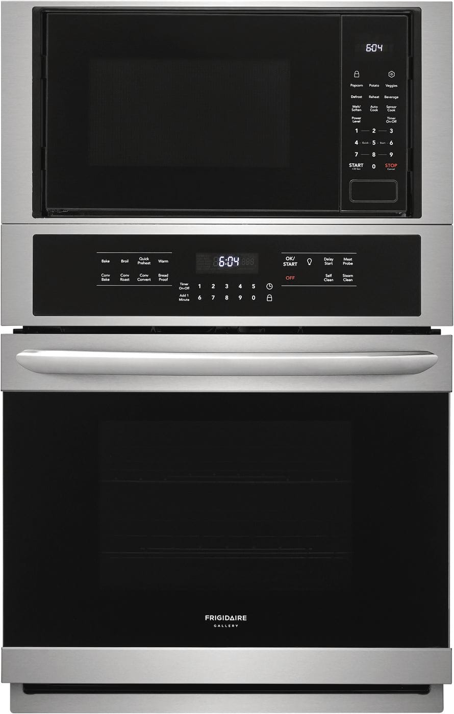 "Model: FGMC2766UF | Frigidaire Gallery 27"" Electric Wall Oven/Microwave Combination"