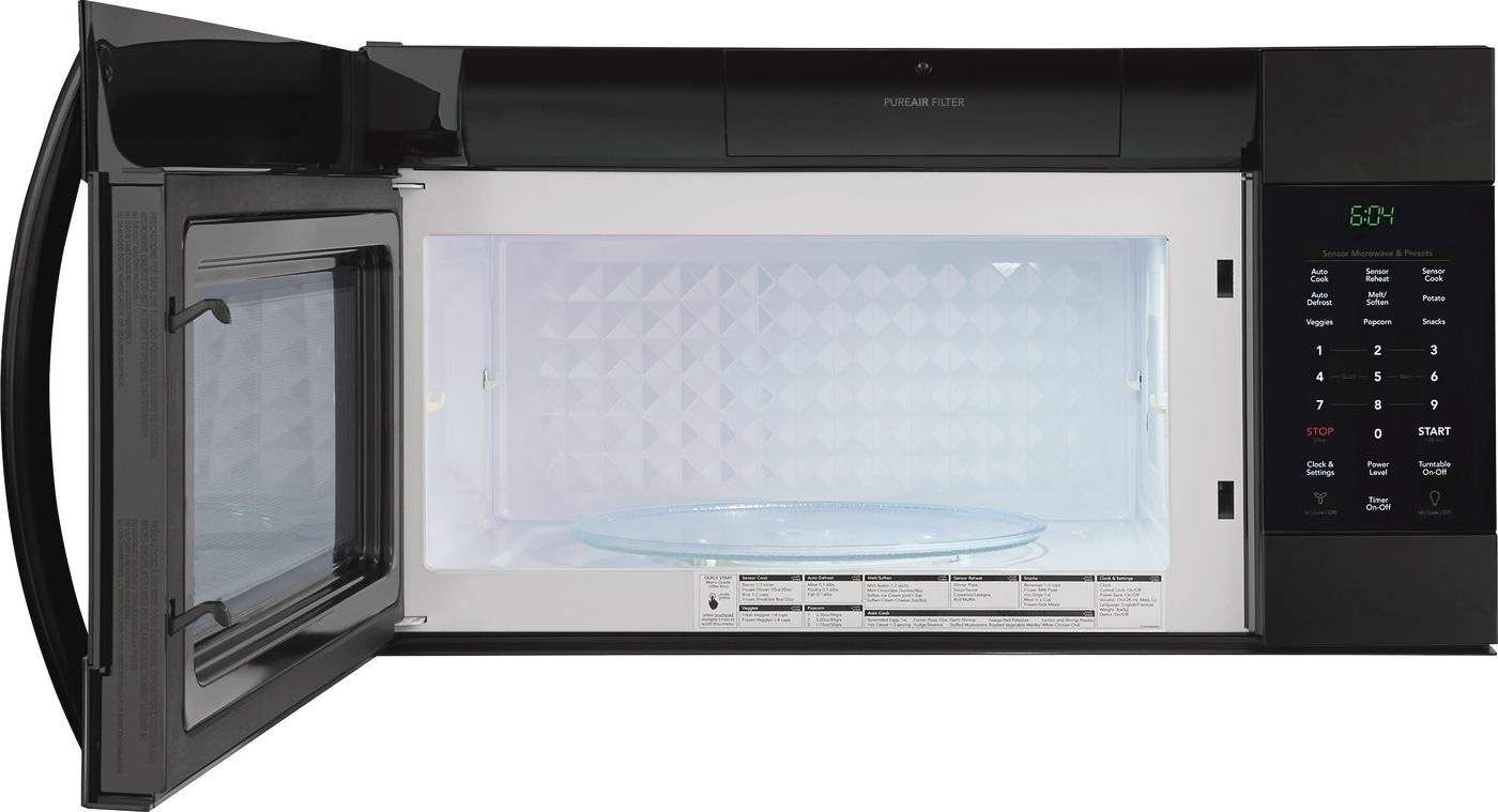 Model: FGMV176NTB | Frigidaire Gallery 1.7 Cu. Ft. Over-The-Range Microwave