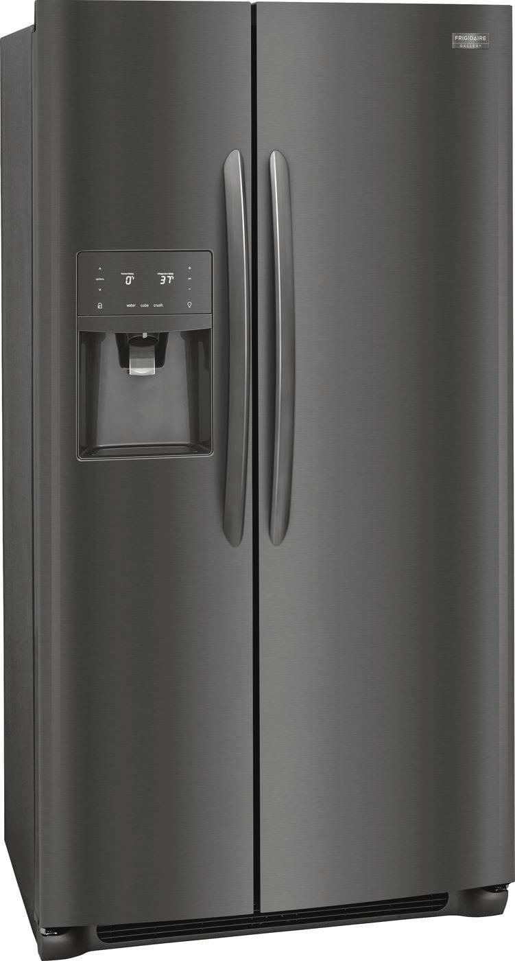 Model: FGSC2335TD | Frigidaire Gallery 22.2 Cu. Ft. Counter-Depth Side-by-Side Refrigerator
