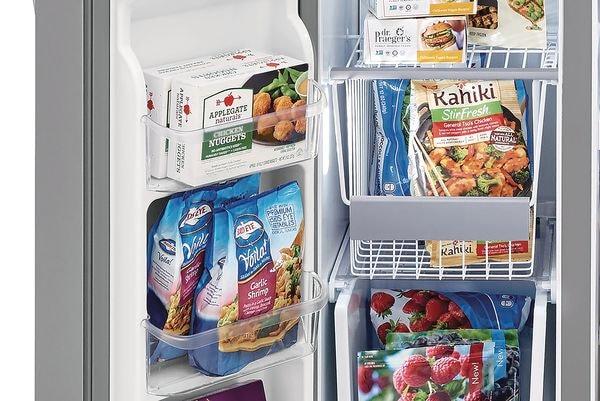 Model: FGSS2635TD | Frigidaire Gallery 25.5 Cu. Ft. Side-by-Side Refrigerator