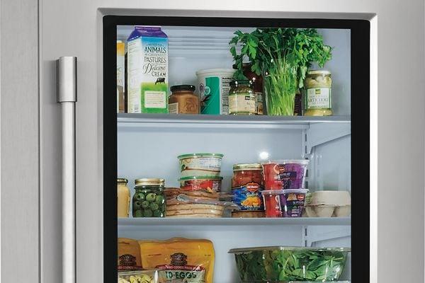 Model: FPGU19F8TF | Frigidaire Professional 19 Cu. Ft. Glass Single-Door Refrigerator