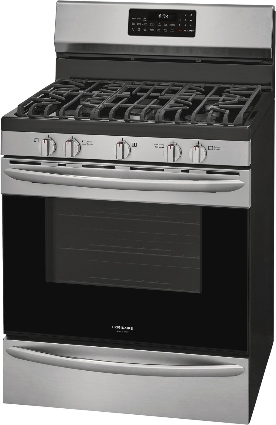 "Model: GCRG3060AF | Frigidaire Gallery 30"" Freestanding Gas Range with Air Fry"