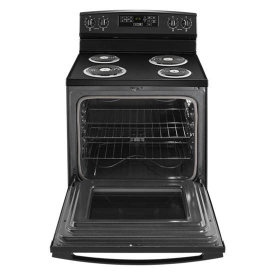 Model: ACR4503SFB | Amana 30-inch Electric Range with Self-Clean Option