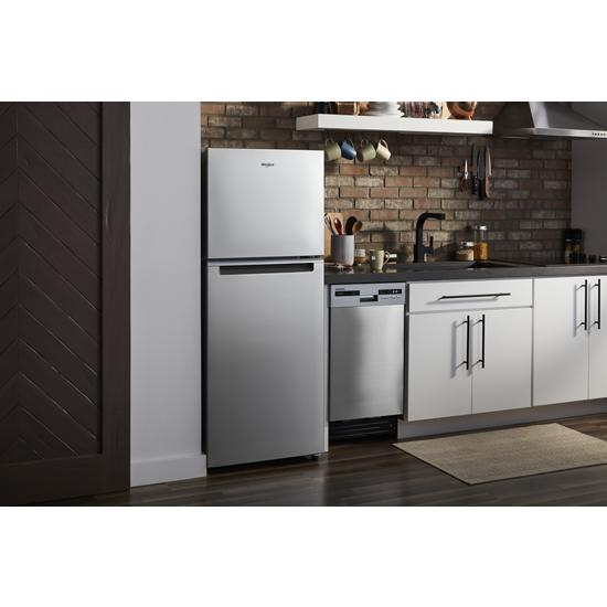 Model: WDF518SAHM | Whirlpool Small-Space Compact Dishwasher with Stainless Steel Tub