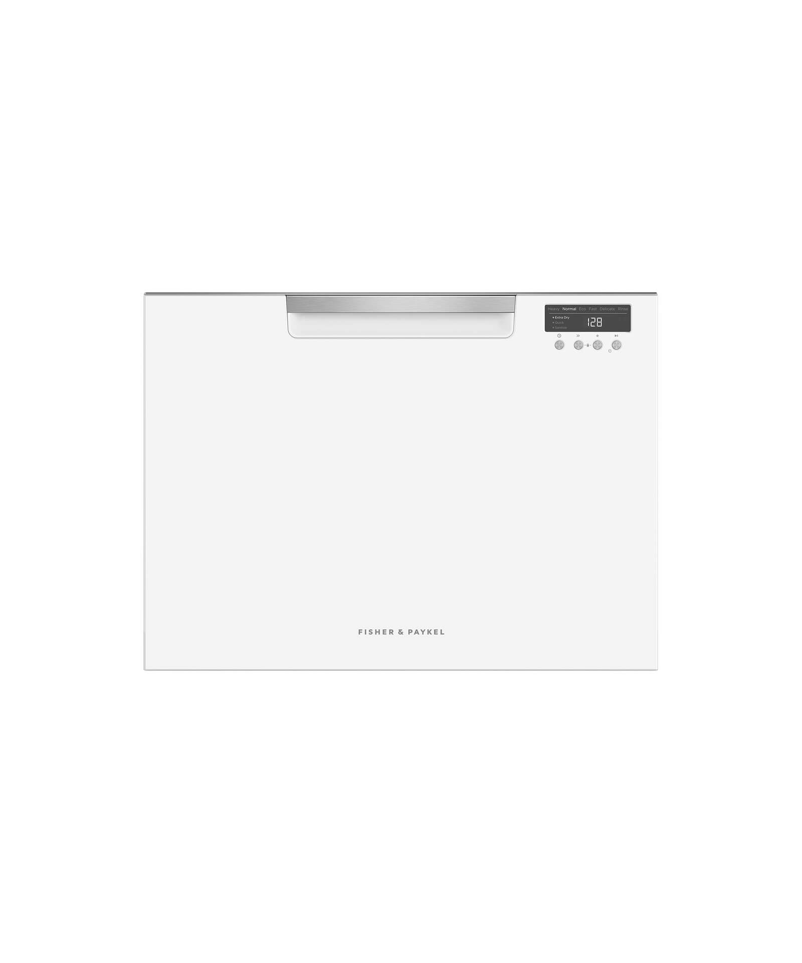 Model: DD24SCTW9_N | Fisher and Paykel Single DishDrawer™, 7 Place Settings, Sanitize (Tall)