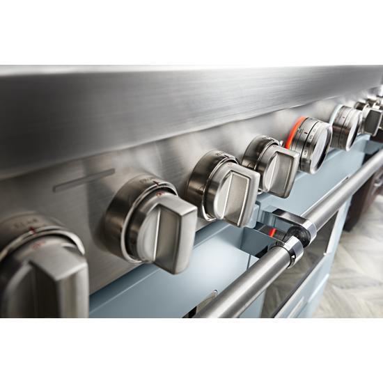 KitchenAid KitchenAid® 48'' Smart Commercial-Style Dual Fuel Range with Griddle