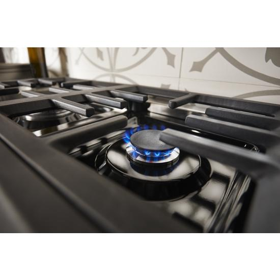 Model: KFDC558JMH | KitchenAid KitchenAid® 48'' Smart Commercial-Style Dual Fuel Range with Griddle