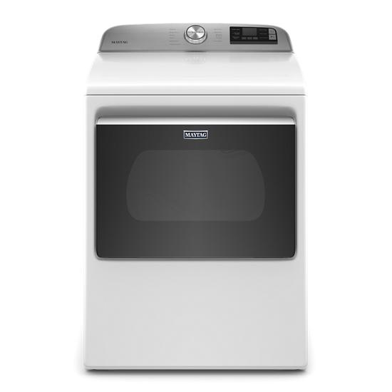 Maytag Smart Capable Top Load Electric Dryer with Extra Power Button - 7.4 cu. ft.