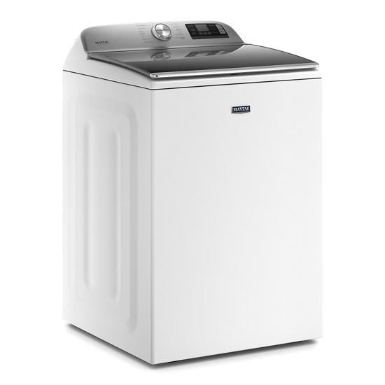 Model: MVW7230HW | Maytag Smart Capable Top Load Washer with Extra Power Button - 5.2 cu. ft.