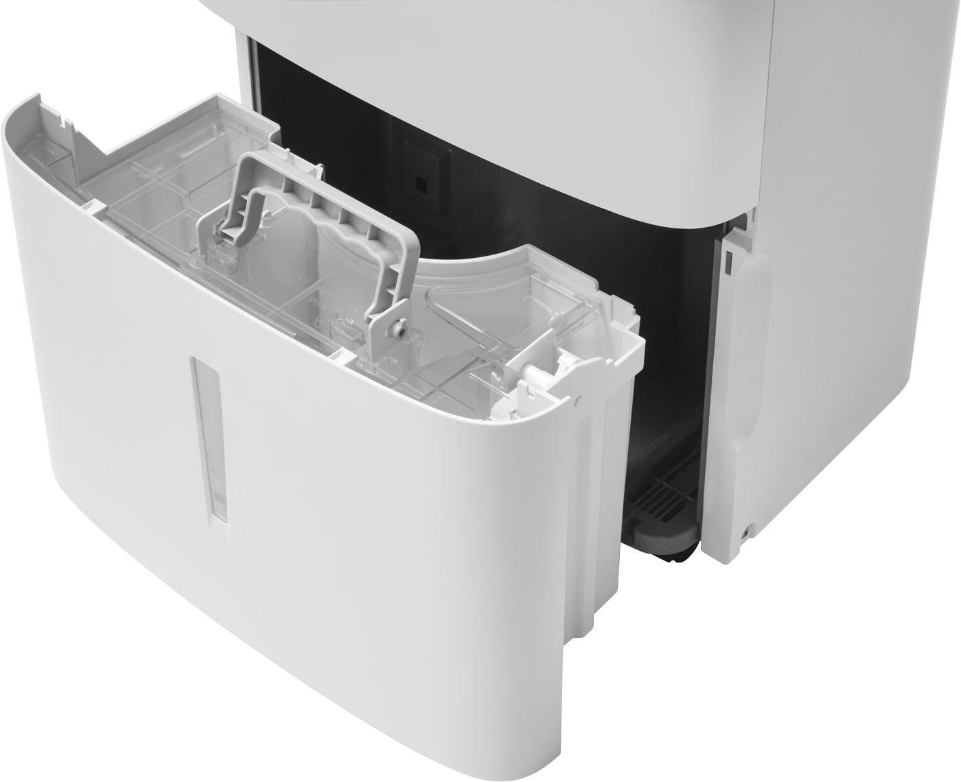 Model: FFAD5033W1 | Frigidaire High Humidity 50 Pint Capacity Dehumidifier