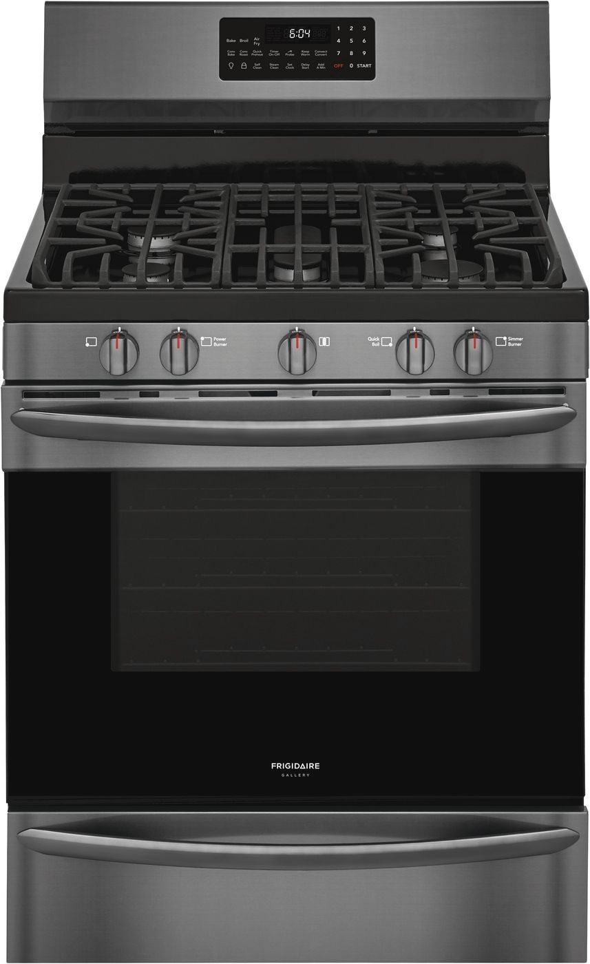 "Frigidaire Gallery 30"" Freestanding Gas Range with Air Fry"