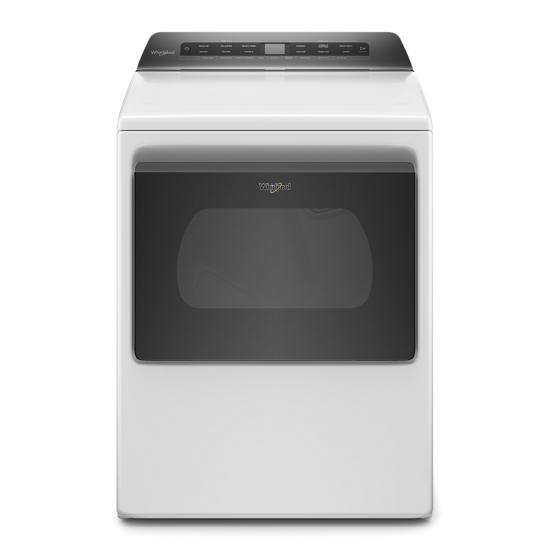 Whirlpool 7.4 cu. ft. Top Load Gas Dryer with Intuitive Controls