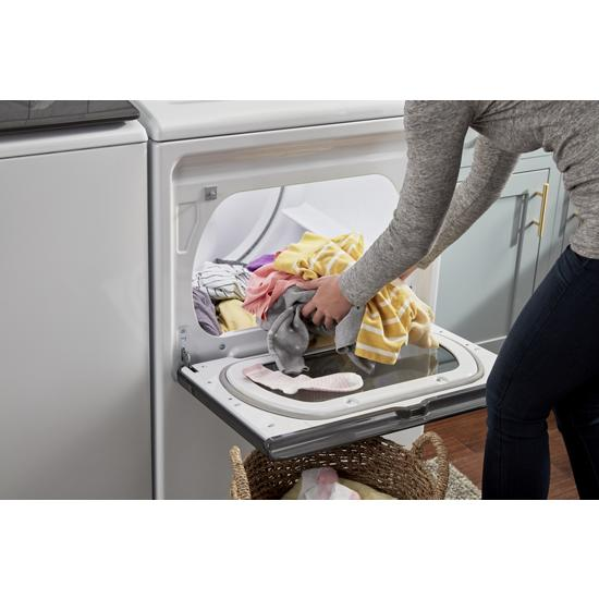 Model: WED6120HW | Whirlpool 7.4 cu. ft. Smart Capable Top Load Electric Dryer