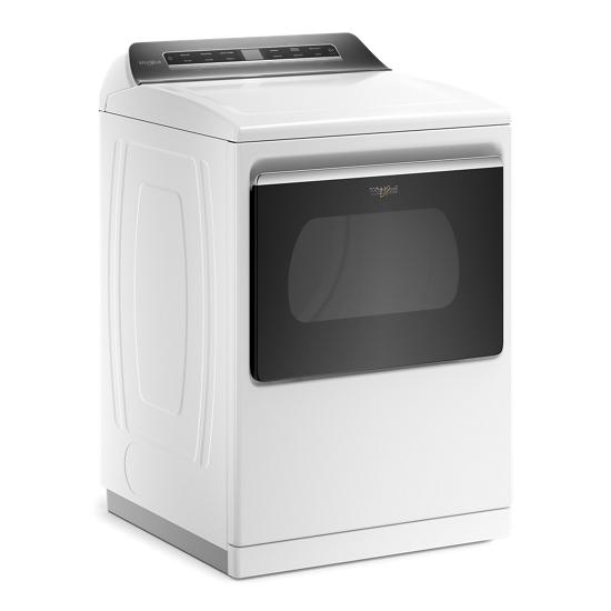 Model: WED7120HW | Whirlpool 7.4 cu. ft. Smart Capable Top Load Electric Dryer