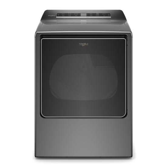 Whirlpool 8.8 cu. ft. Smart Capable Top Load Electric Dryer
