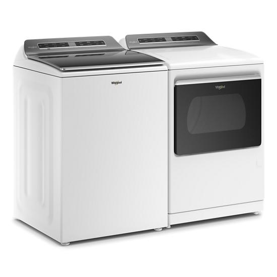 Model: WTW7120HW | Whirlpool 5.3 cu. ft. Smart Capable Top Load Washer