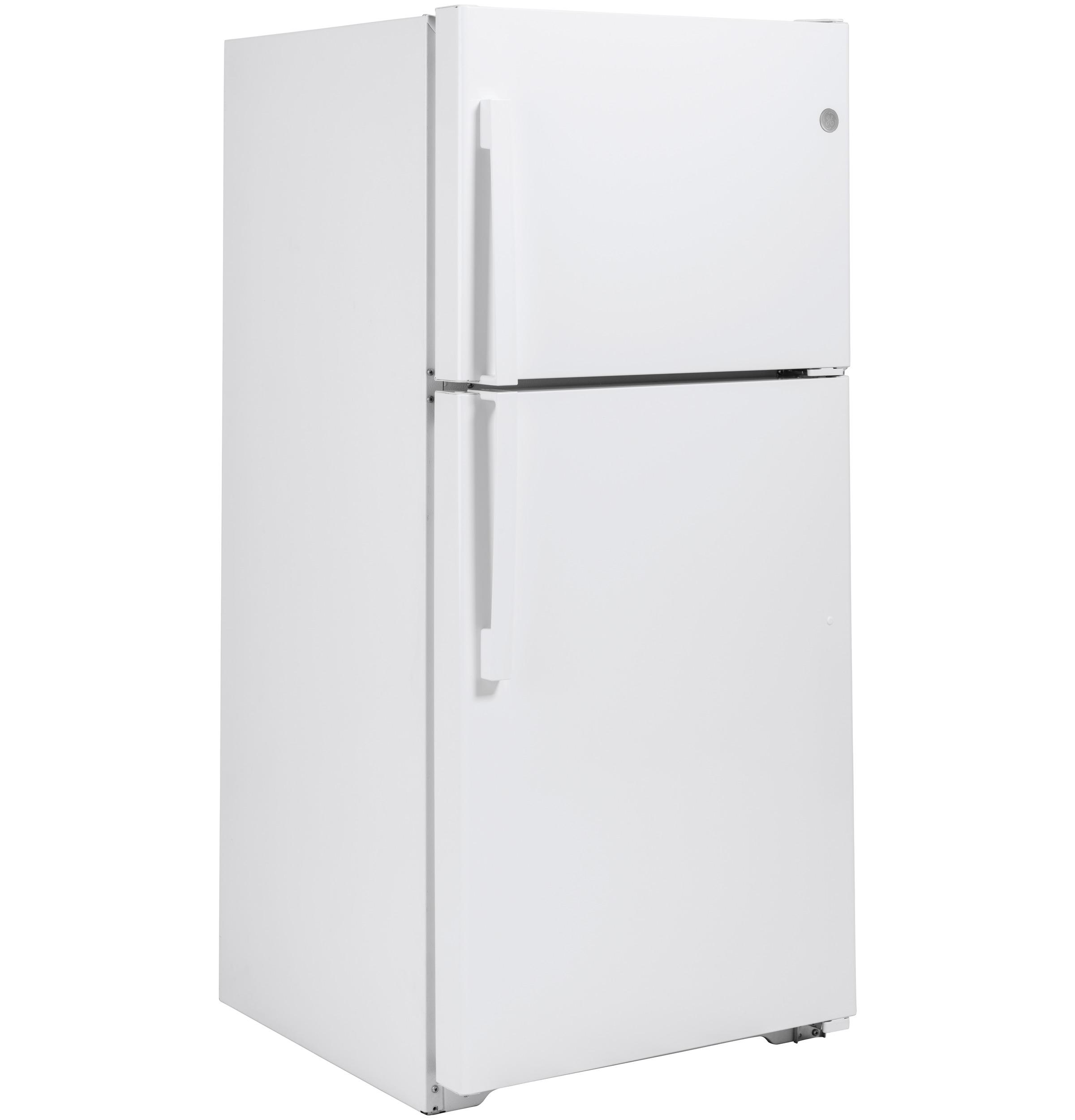 Model: GTS22KGNRWW | GE GE® 21.9 Cu. Ft. Top-Freezer Refrigerator