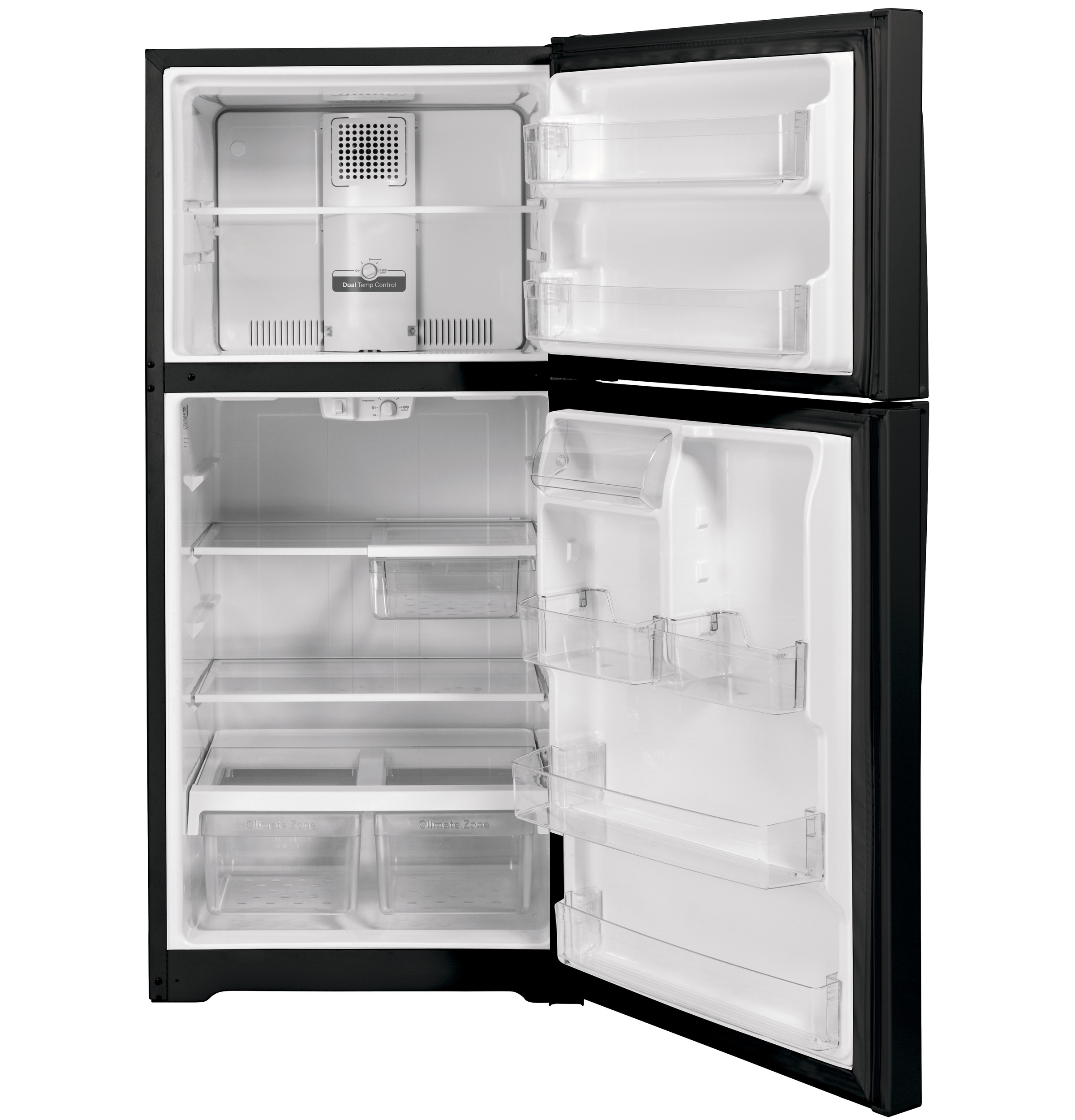 Model: GTS22KGNRBB | GE GE® 21.9 Cu. Ft. Top-Freezer Refrigerator