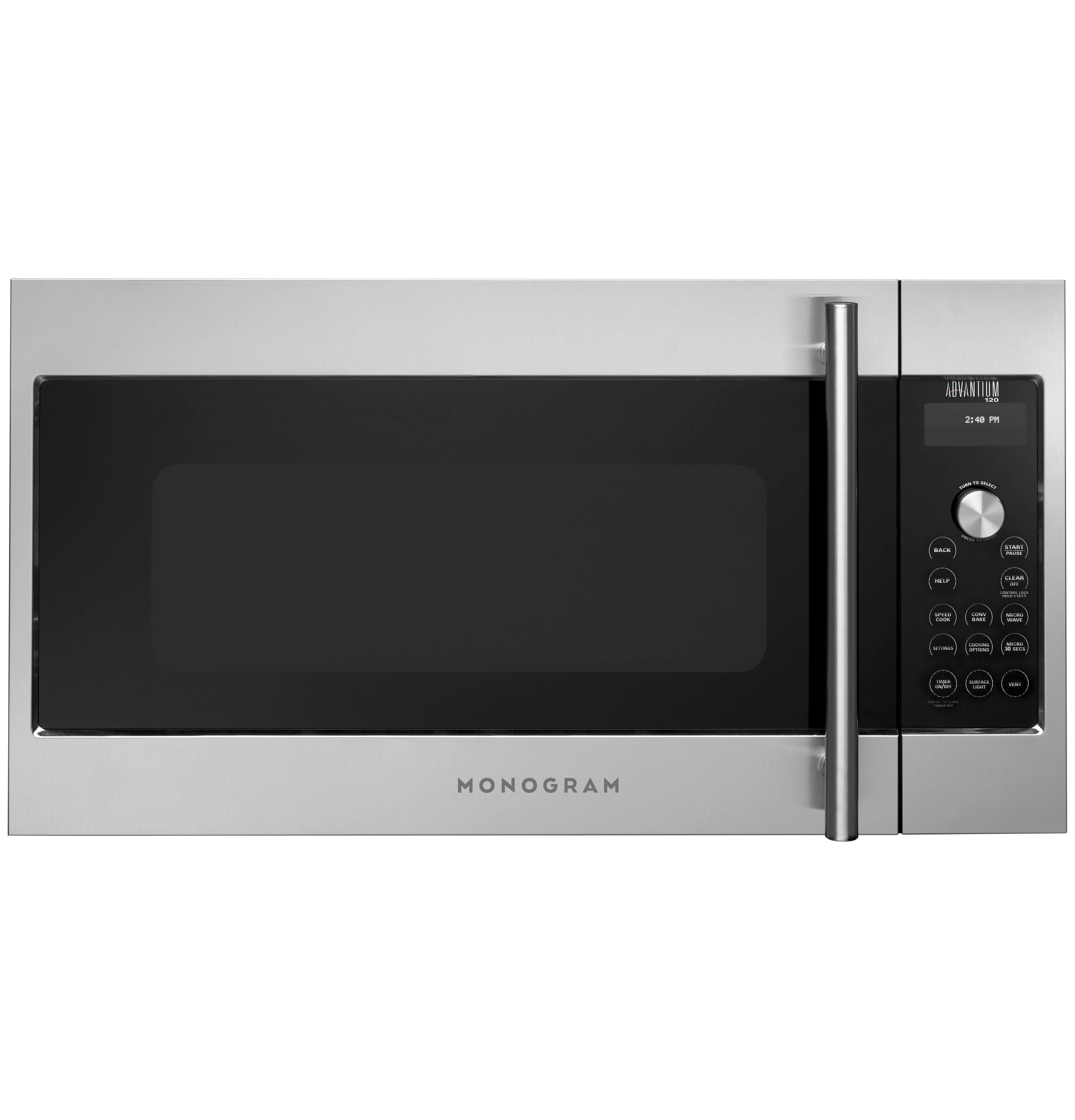 Monogram Monogram Advantium® 120 Above-the-Cooktop Speedcooking Oven
