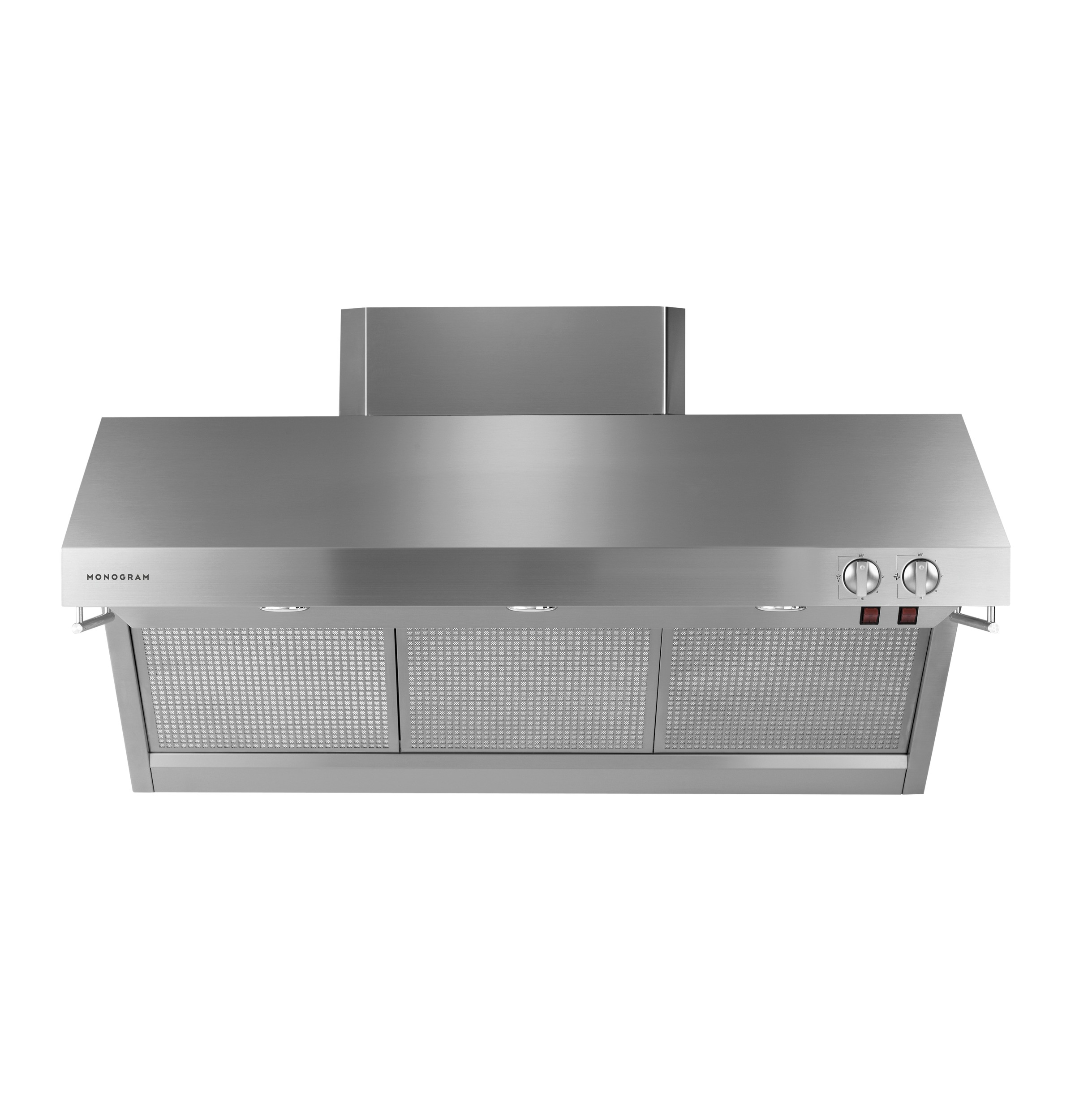 "Model: ZV48RSFSS | Monogram Monogram 48"" Stainless Steel Professional Hood"