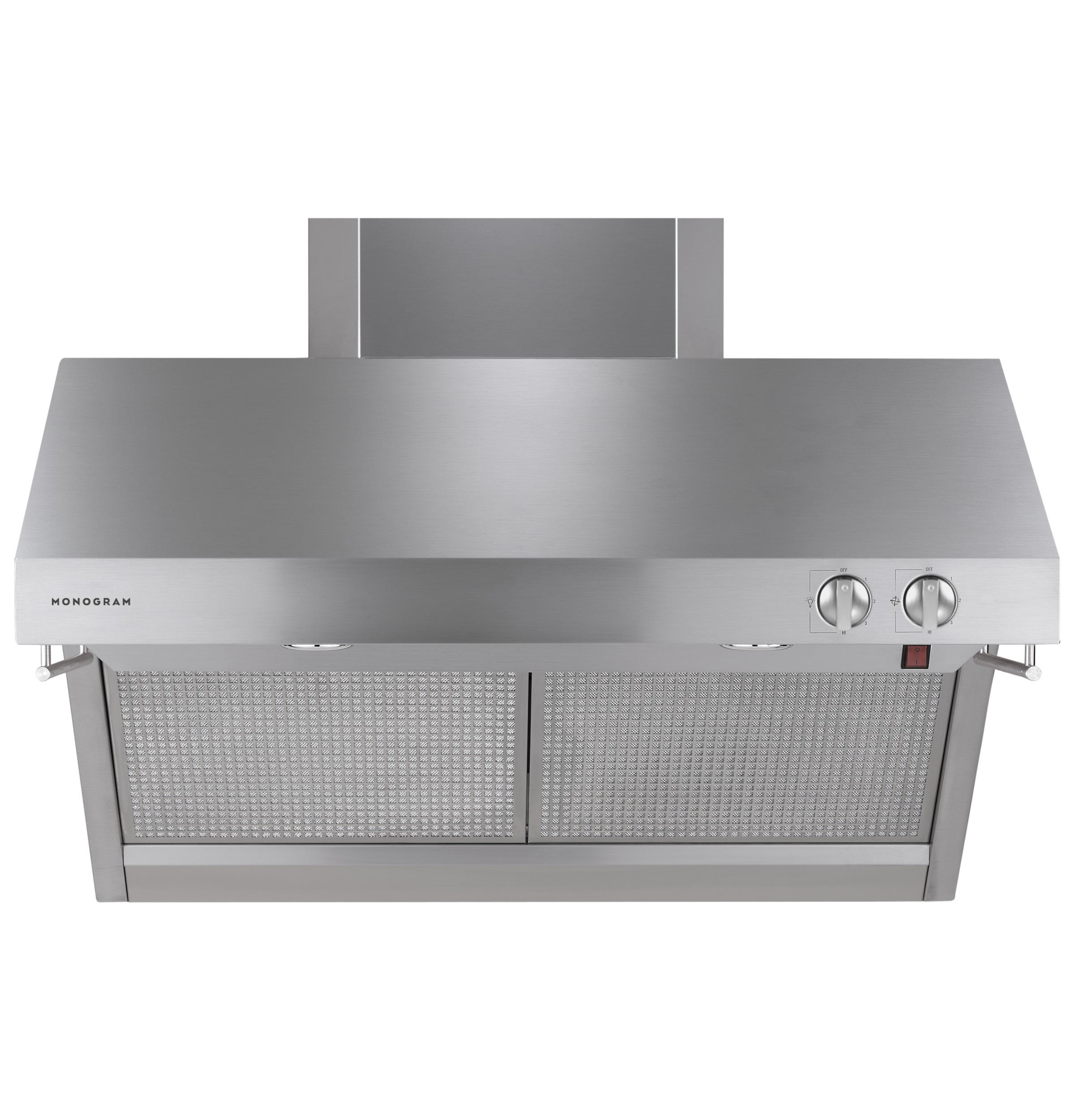 "Model: ZV36RSFSS | Monogram Monogram 36"" Stainless Steel Professional Hood"