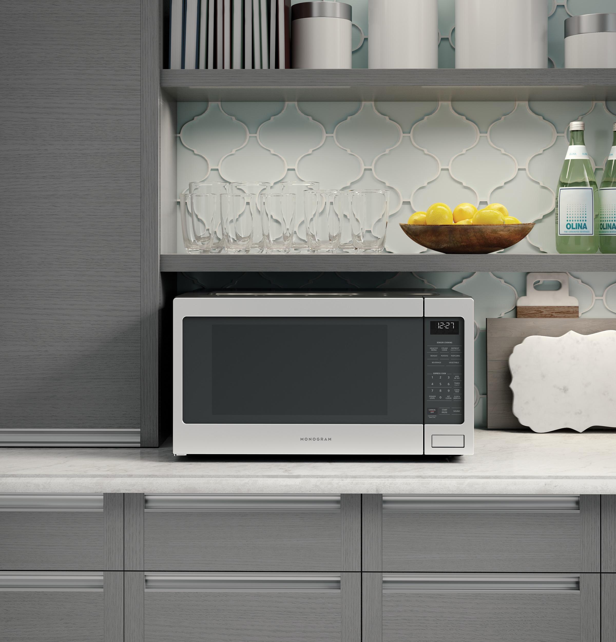 Model: ZES1227SLSS | Monogram Monogram 2.2 Cu. Ft. Countertop Microwave Oven