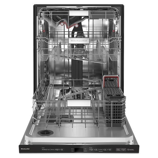 Model: KDPM804KPS | KitchenAid 44 dBA Dishwasher with FreeFlex™ Third Rack and LED Interior Lighting