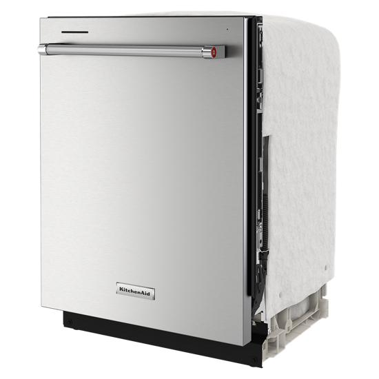 KitchenAid 44 dBA Dishwasher in PrintShield™ Finish with FreeFlex™ Third Rack