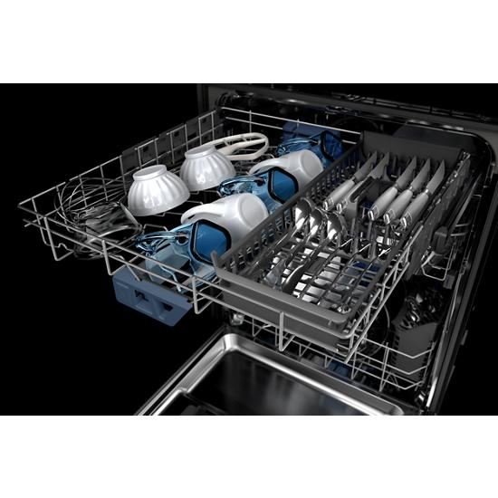 Model: MDB8959SKB | Maytag Top control dishwasher with Third Level Rack and Dual Power filtration