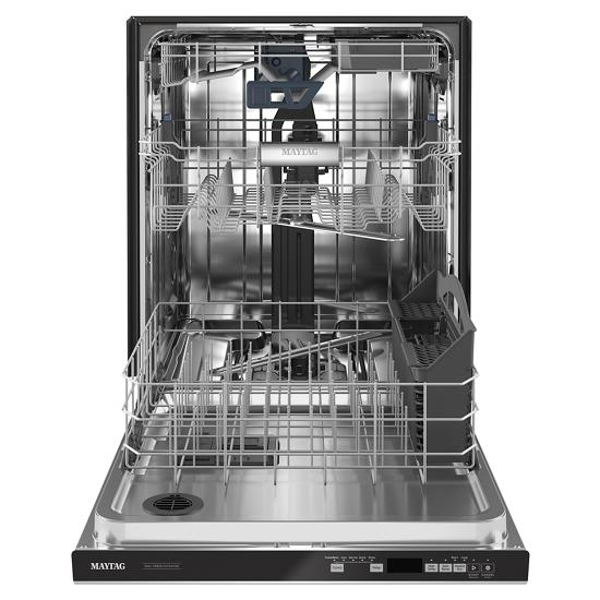 Model: MDB8959SKZ | Maytag Top control dishwasher with Third Level Rack and Dual Power filtration