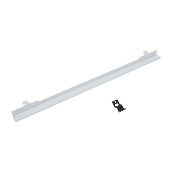 """Unbranded 27"""" Built-In Range Flush Installation Trim Kit, White"""