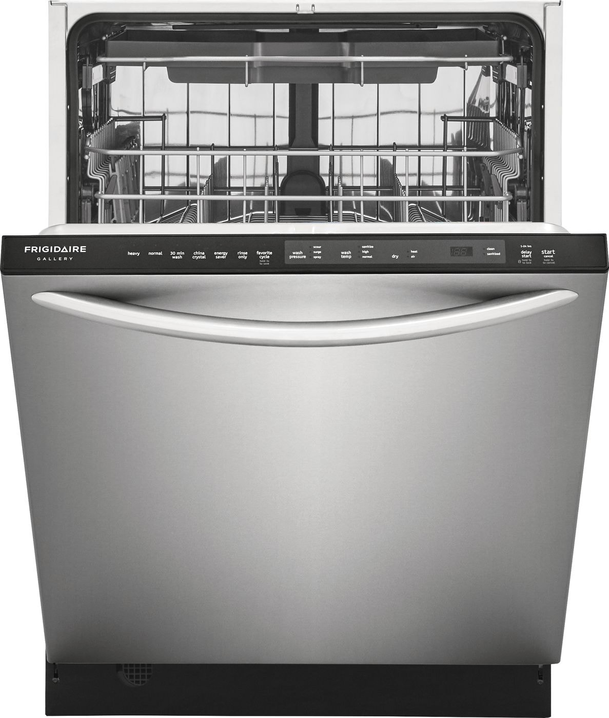 "Model: FGID2479SF | Frigidaire Gallery 24"" Built-In Dishwasher with EvenDry™ System"
