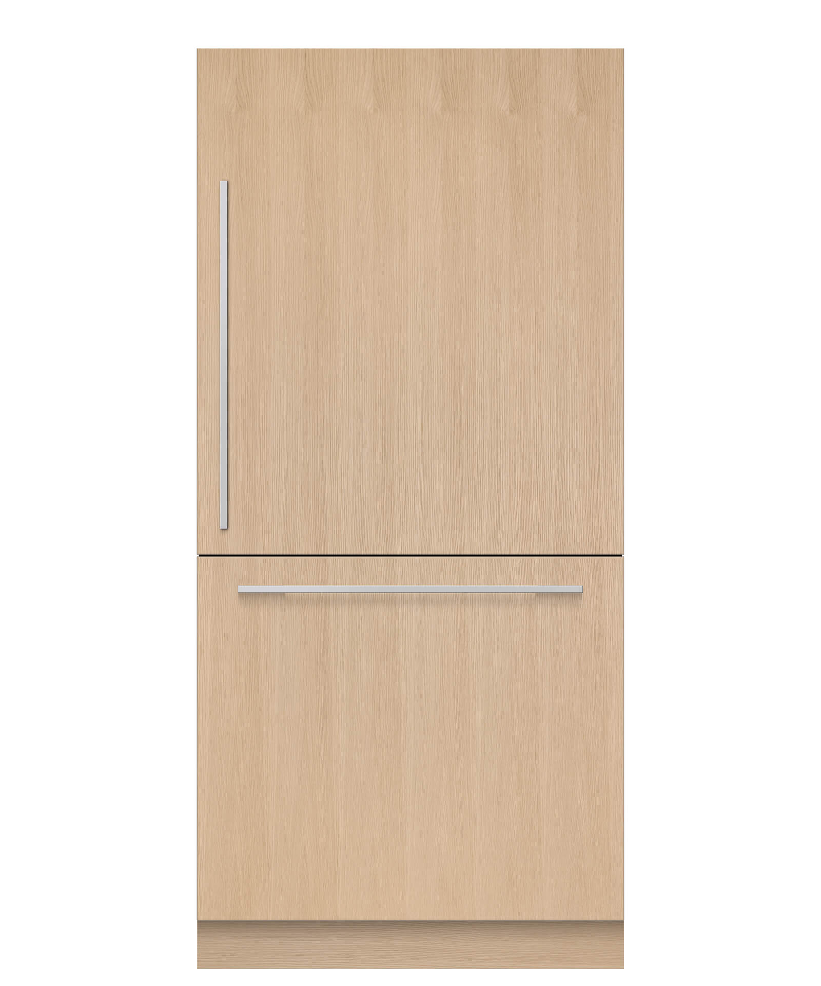 """Fisher and Paykel Integrated Refrigerator Freezer, 36"""", 16.8 cu ft, Panel Ready, Ice"""