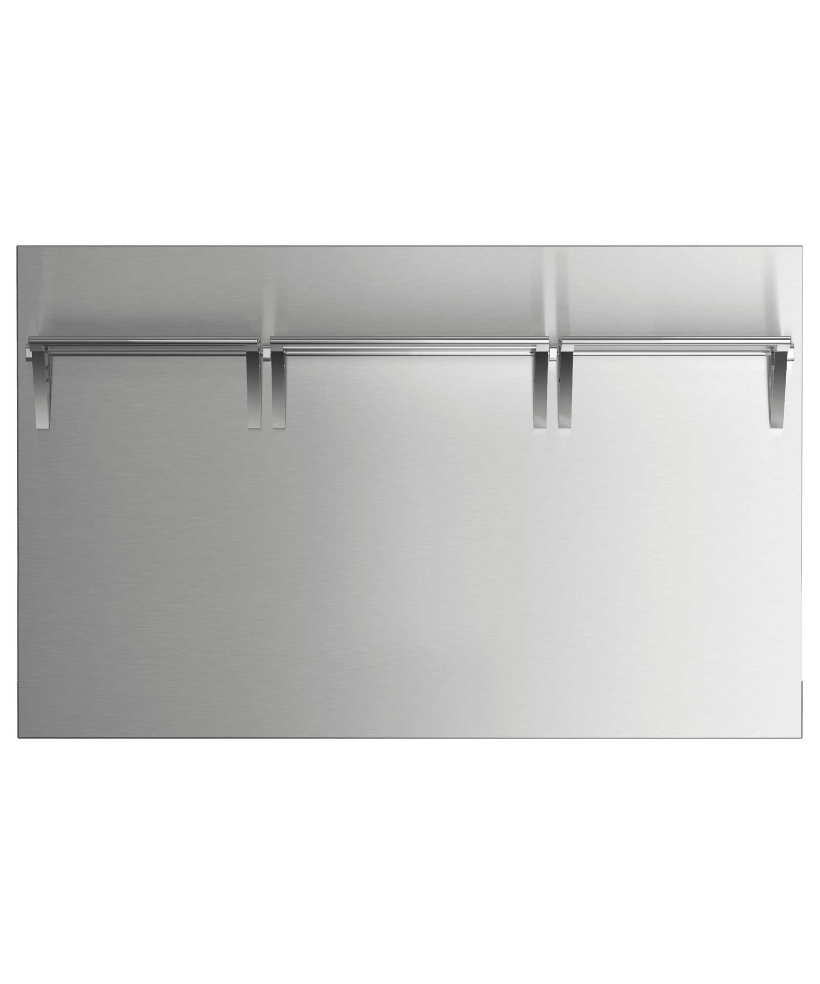 """Fisher and Paykel 48"""" Pro Cooktop High Backguard for combustible situation"""