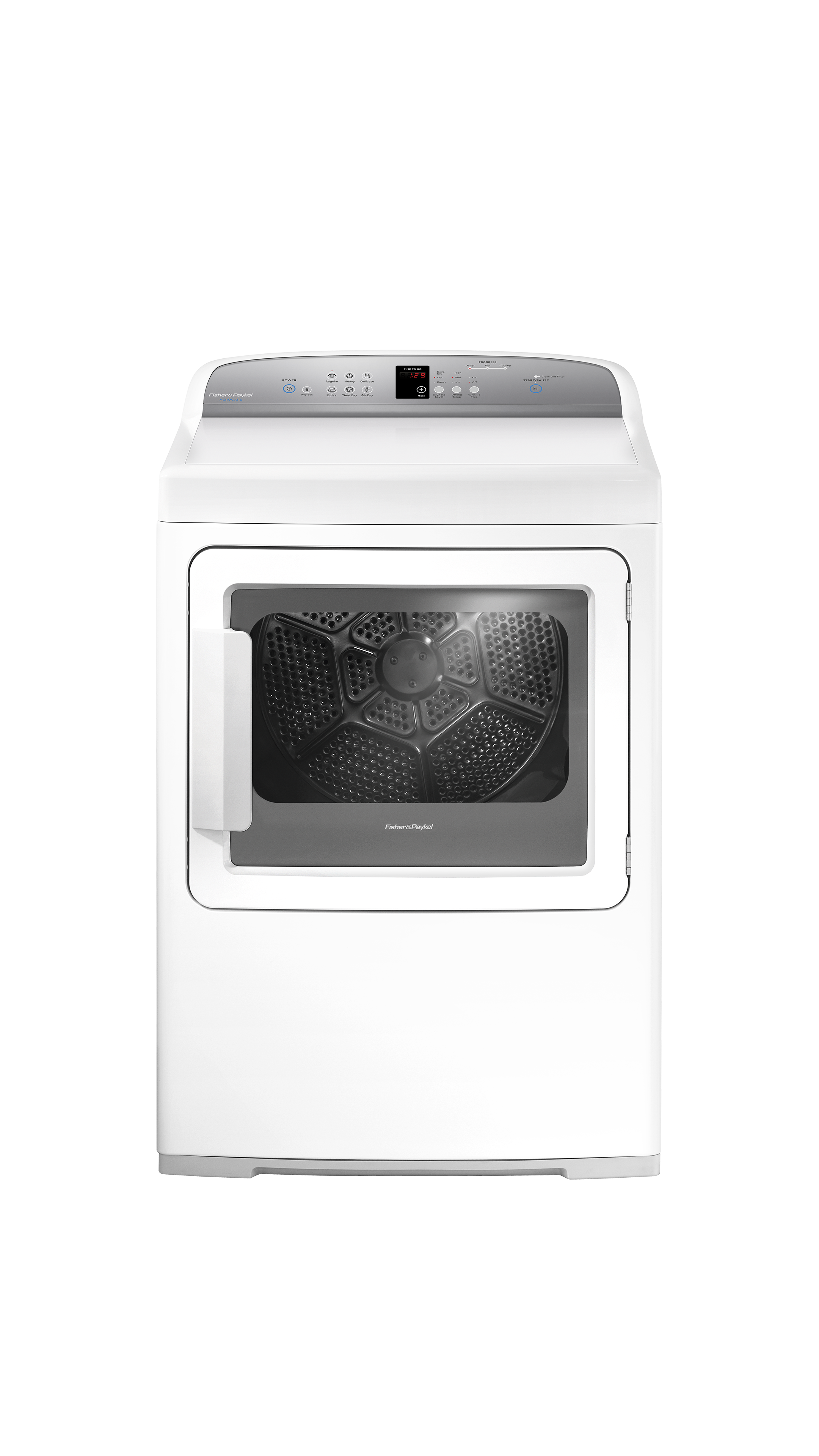 Model: DG7027G1   Fisher and Paykel Gas Dryer, SmartTouch™ Controls