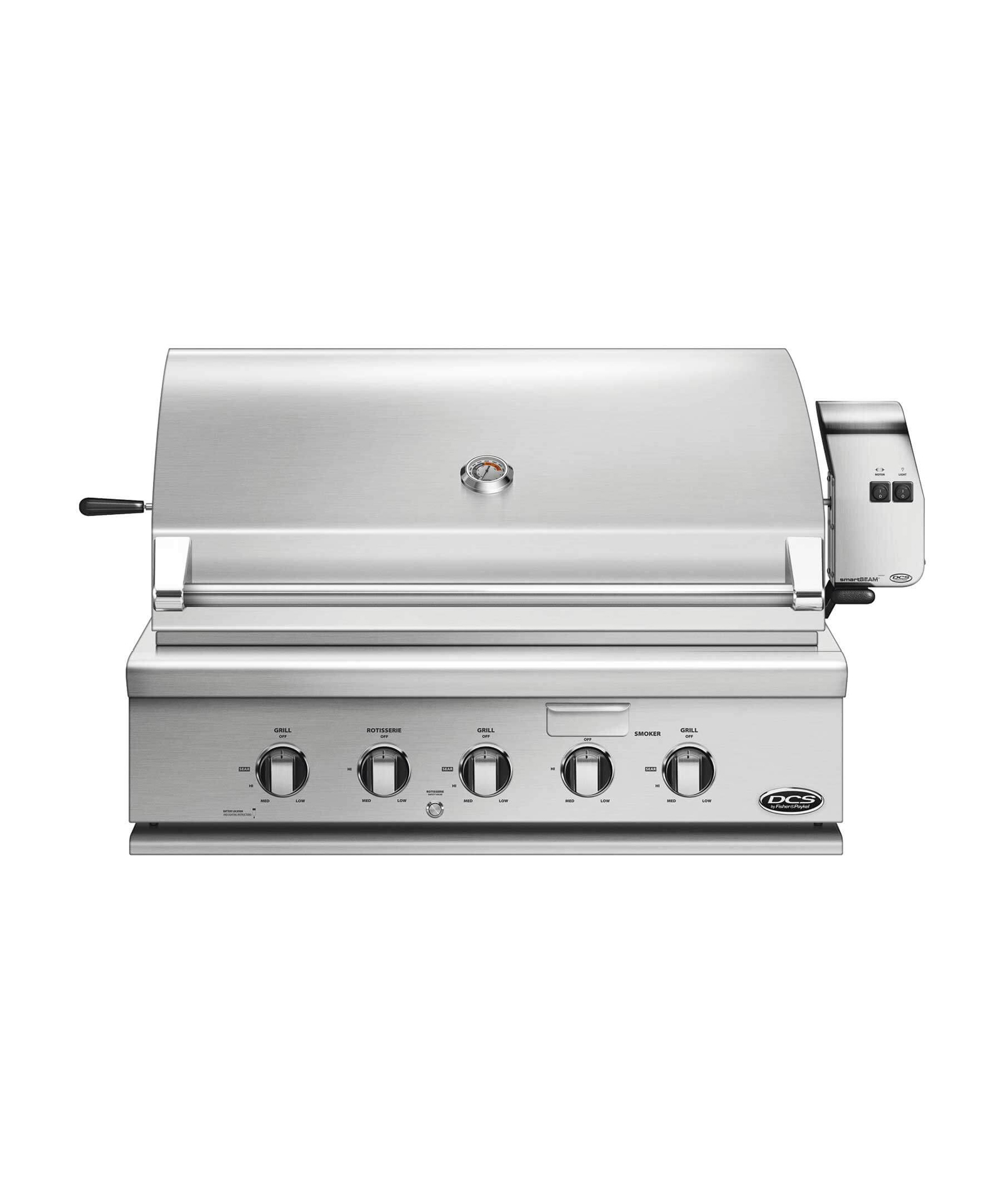 "Model: BH1-36R-L | DCS 36"" Traditional Grill with Rotisserie"