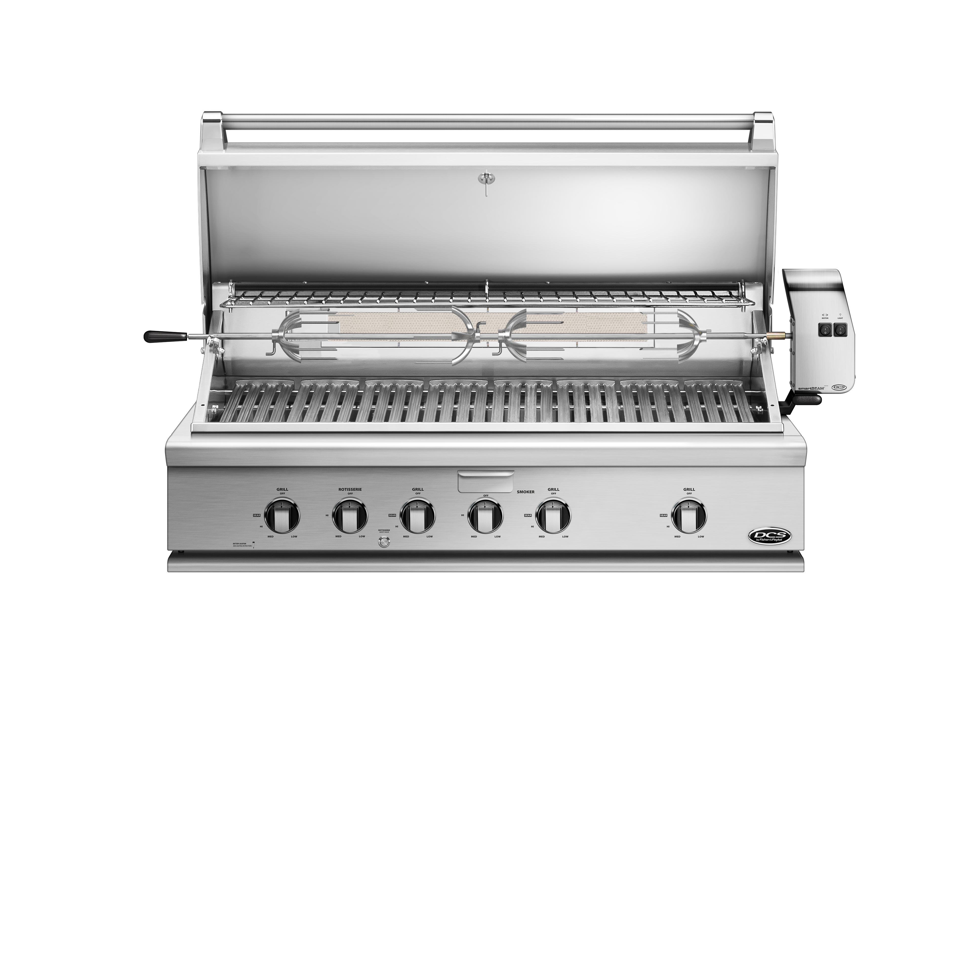 """Model: BH1-48R-N   DCS 48"""" Traditional Grill with Rotisserie"""
