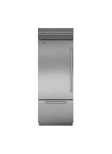 "Model: BI-30U/S/TH-RH   Sub-Zero 30"" Classic Over-and-Under Refrigerator/Freezer"