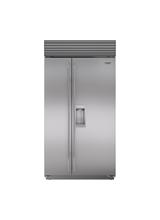 "Model: BI-42SD/S/PH | Sub-Zero 42"" Classic Side-by-Side Refrigerator/Freezer with Dispenser"
