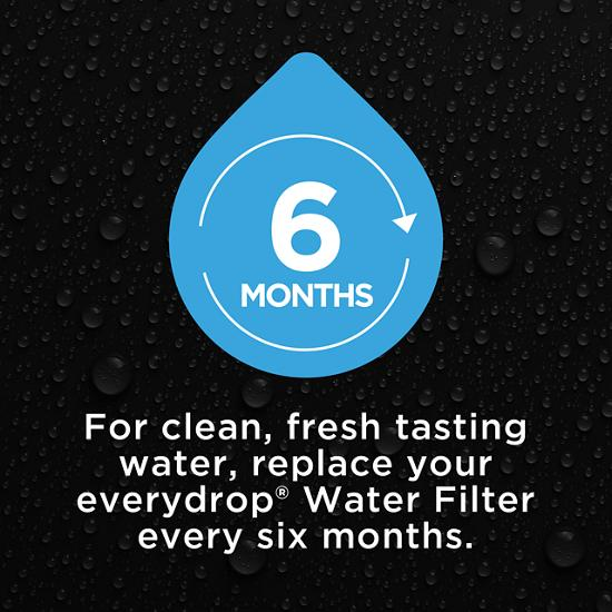 Model: EDR2RXD1   EveryDrop everydrop® Refrigerator Water Filter 2 - EDR2RXD1 (Pack of 1)