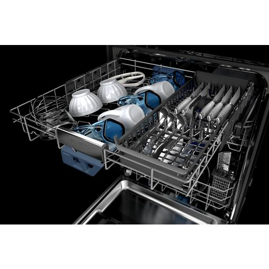 Model: MDB9959SKZ | Maytag Top control dishwasher with Third Level Rack and Dual Power filtration