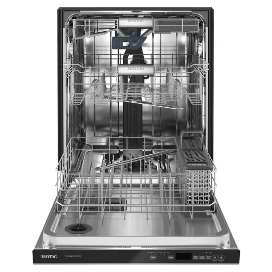 Model: MDB9979SKZ | Maytag Top control dishwasher with Third Level Rack and Dual Power filtration