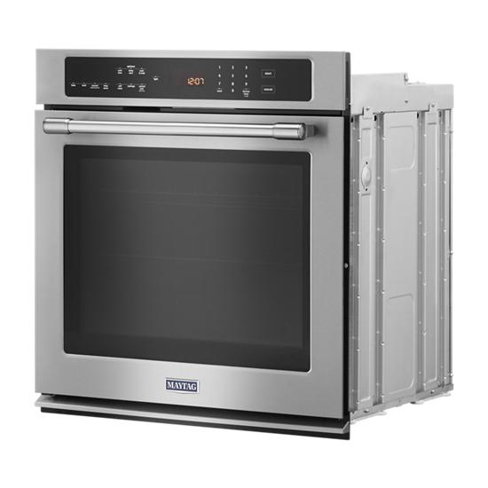 Model: MEW9527FZ | Maytag 27-Inch Wide Single Wall Oven With True Convection - 4.3 Cu. Ft.